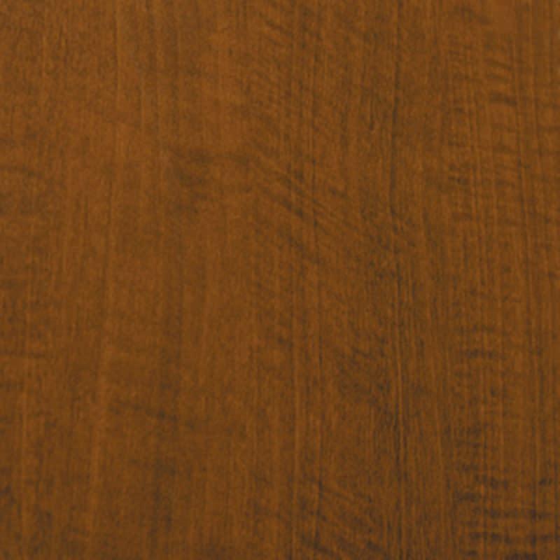 色とサイズが選べるオープン本棚 幅44.5cm高さ150cm 素材アップ:(ウ)ブラウン