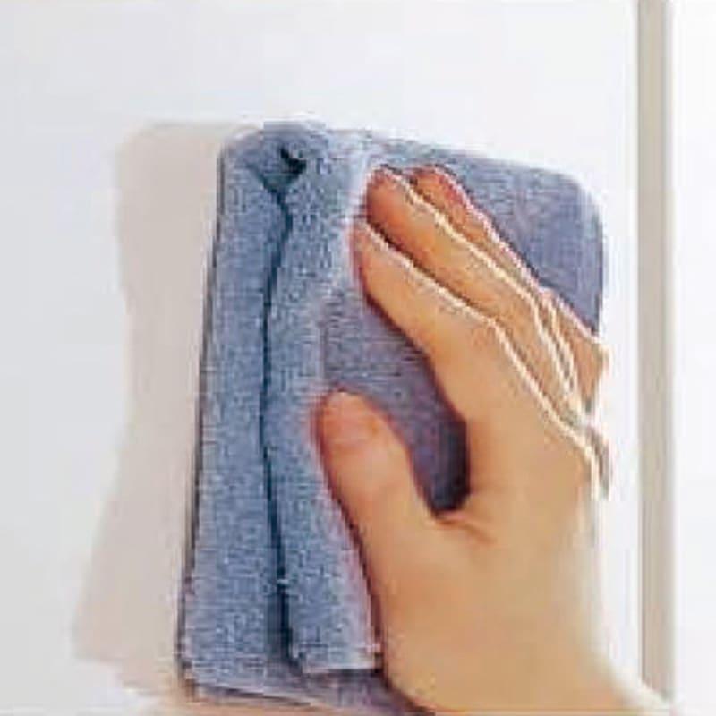 【日本製】シンプルスタイルワードローブ 棚 幅57.5cm奥行56cmタイプ キズ付きにくく、汚れてもお手入れが簡単。
