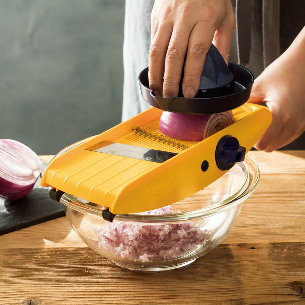 32種類のカットが可能なドイツ製万能キッチンスライサー TNS3000 501806