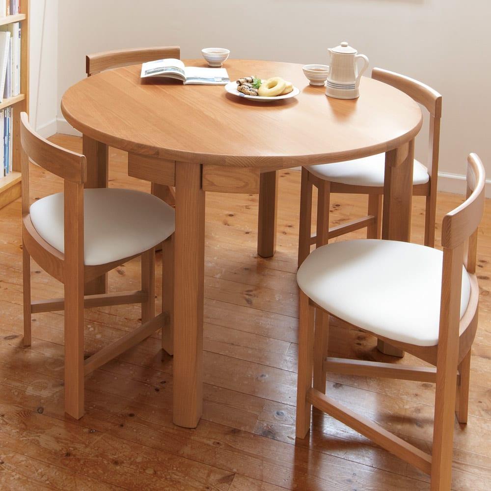 省スペースラウンドダイニングシリーズ ラウンドテーブル ※お届けはテーブルのみです。