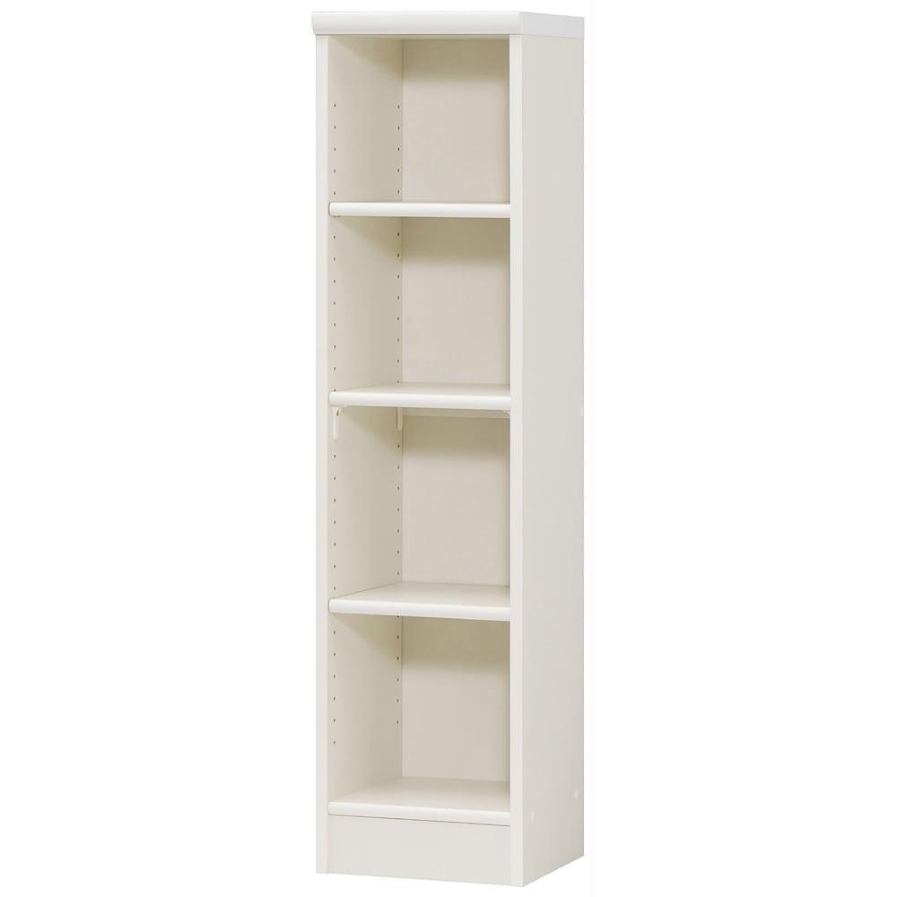 色とサイズが選べるオープン本棚 幅28.5cm高さ117cm 511840