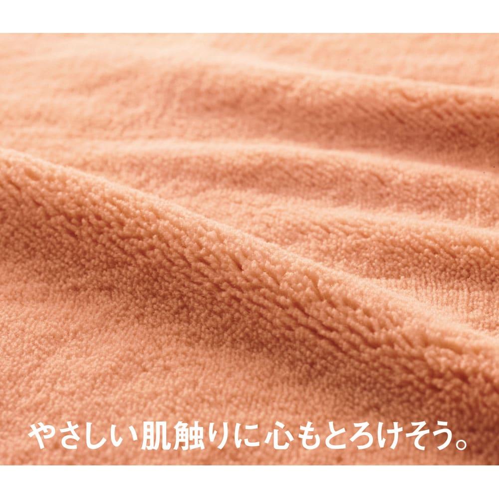 シングル(【ディノス限定販売】ヒートループ(R)DX ぬくぬく増量掛け布団) 【保温】ほわほわポカポカのマイクロファイバー 長い毛足が空気をたっぷり含んで保温。ほわほわっと暖かみのある肌触りに癒やされます。不快な静電気を防ぐため、キルトの糸には制電糸を使いました。