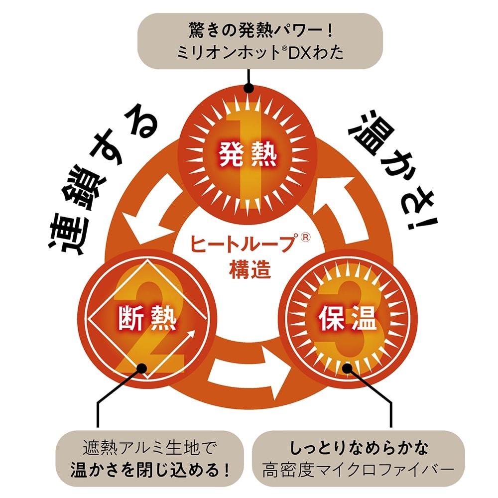【ディノス限定販売】ヒートループ(R) プレミアム 敷きパッド