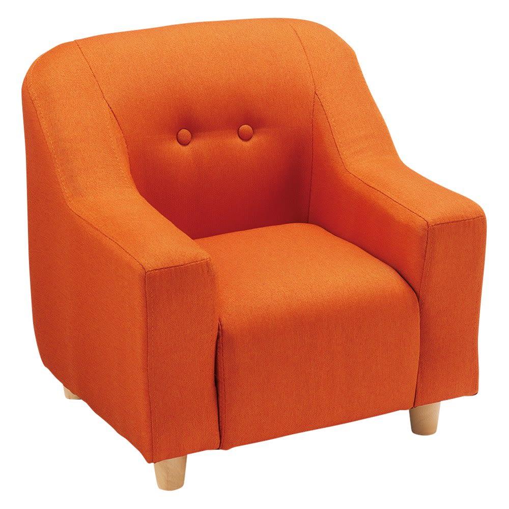 ペットのソファ 小 (ア)オレンジ 小サイズ…座面幅約26cm 座部高約25cm