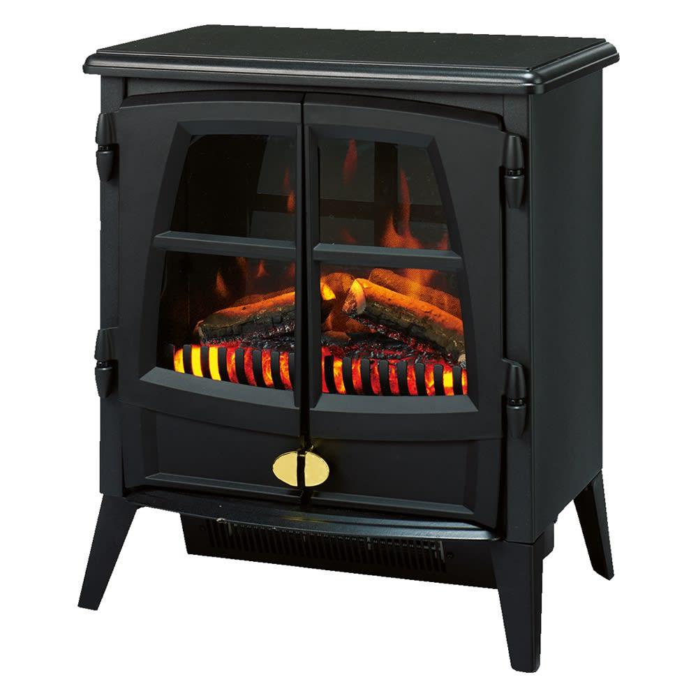 ディンプレックス 暖炉型ファンヒーター ジャズ2 (ア)ブラック(販路限定カラー)