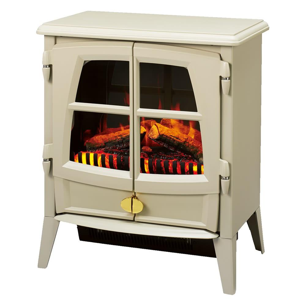 ディンプレックス 暖炉型ファンヒーター ジャズ2 (ウ)ペブルグレー