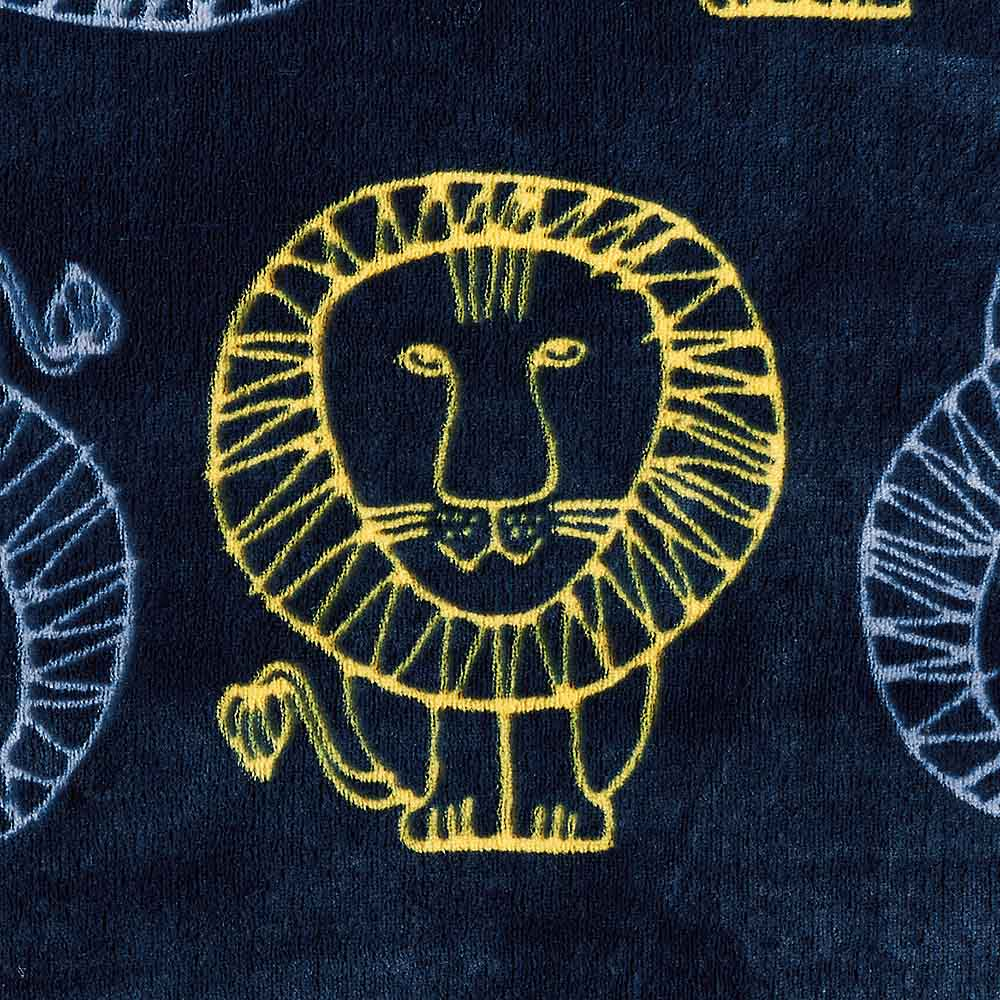 LISA LARSON/リサ・ラーソン電気毛布シリーズ 電気掛け敷き毛布 (イ)ネイビー(ライオン)