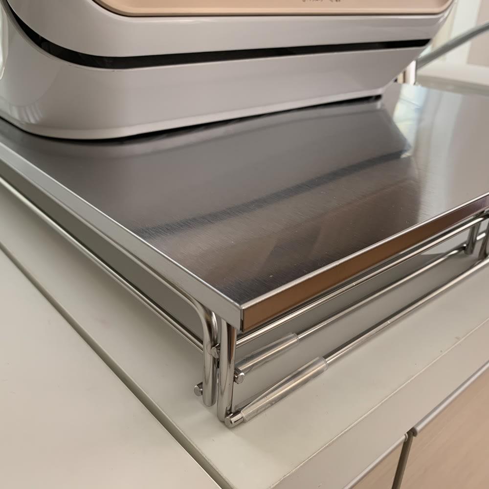 シンクに渡せる食洗機ラック スライド水切り付き