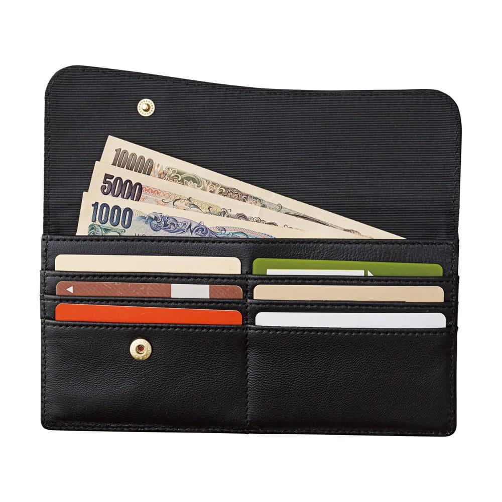 ラムレザースリムカード財布 1個