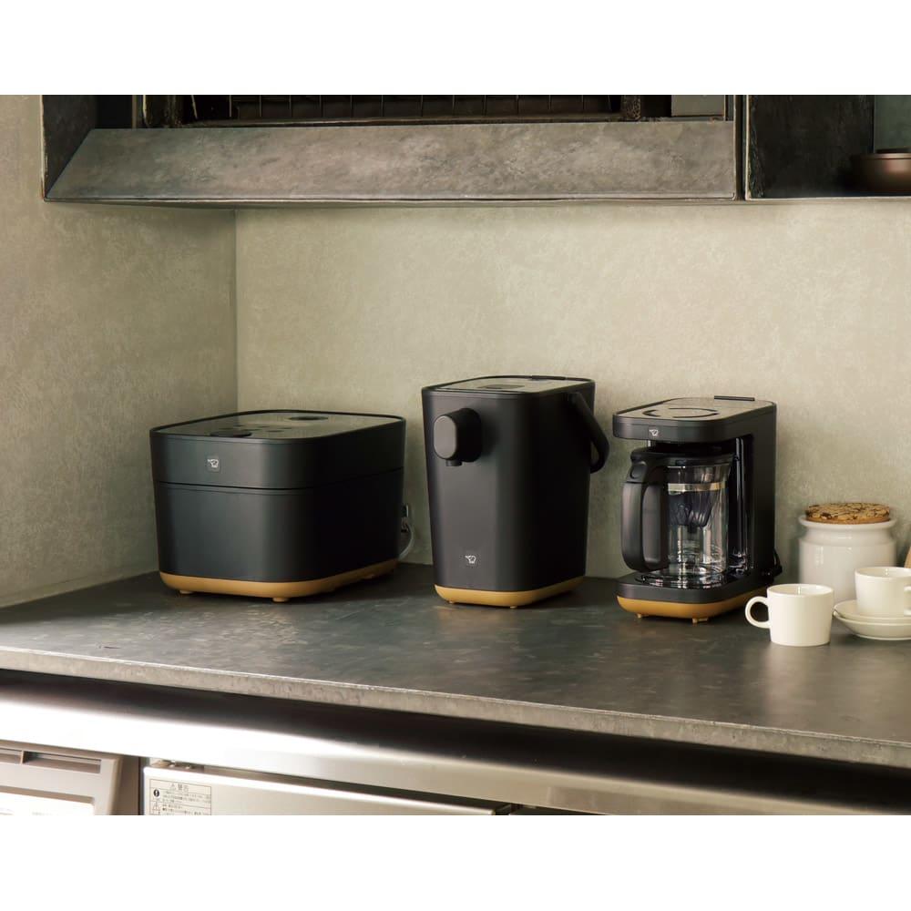 象印 STAN. /スタン コーヒーメーカー スタンの同シリーズと並べるとより素敵です♪