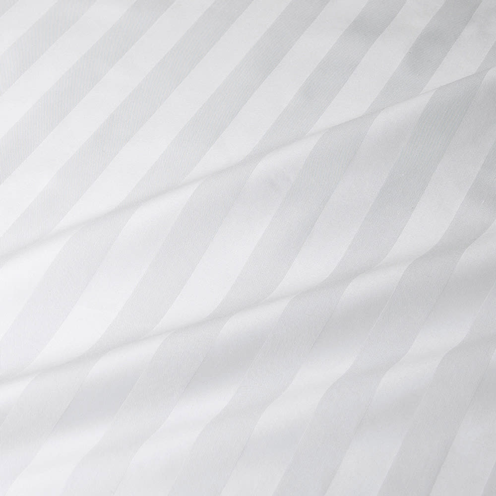 ホテルライクな高密度ドビー織 掛けカバー 生地アップ