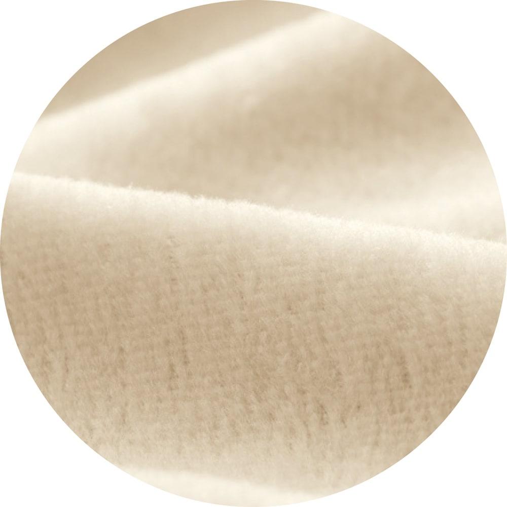 西川 ふわっとやわらか吸湿・発熱 掛けカバー ふわっとやわらかな肌触りにこだわって、シャーリング加工を施しました。