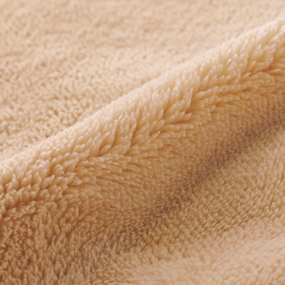 マイクロファイバーあったかシーツ (ブレスエアー(R)ネオ敷布団用) 毛足も長くなめらかな風合いにうっとり。