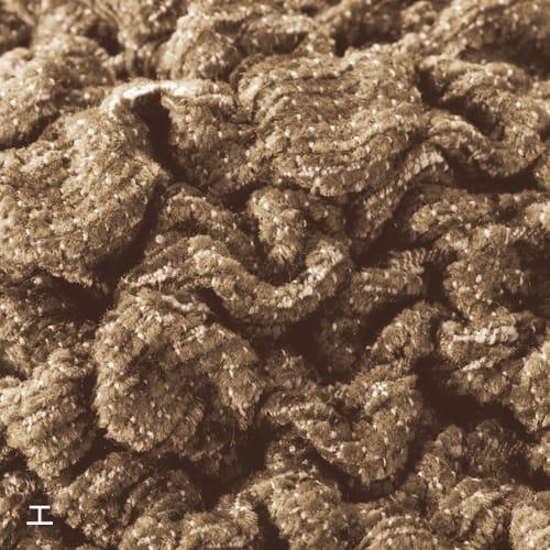 イタリア製カバー〈チェニリア〉座面・背もたれ兼用クッションカバー(1枚) 糸全体に毛羽のあるモール状のシェニール糸を使用。ふわふわ柔らかく、ビロード風の光沢も美しい、高級感のある生地です。