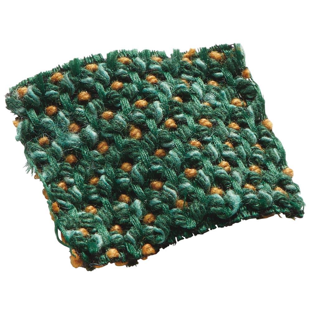 スペイン製はっ水カバー〈サマンサ〉座面・背もたれ兼用カバー(1枚) (オ)グリーン系
