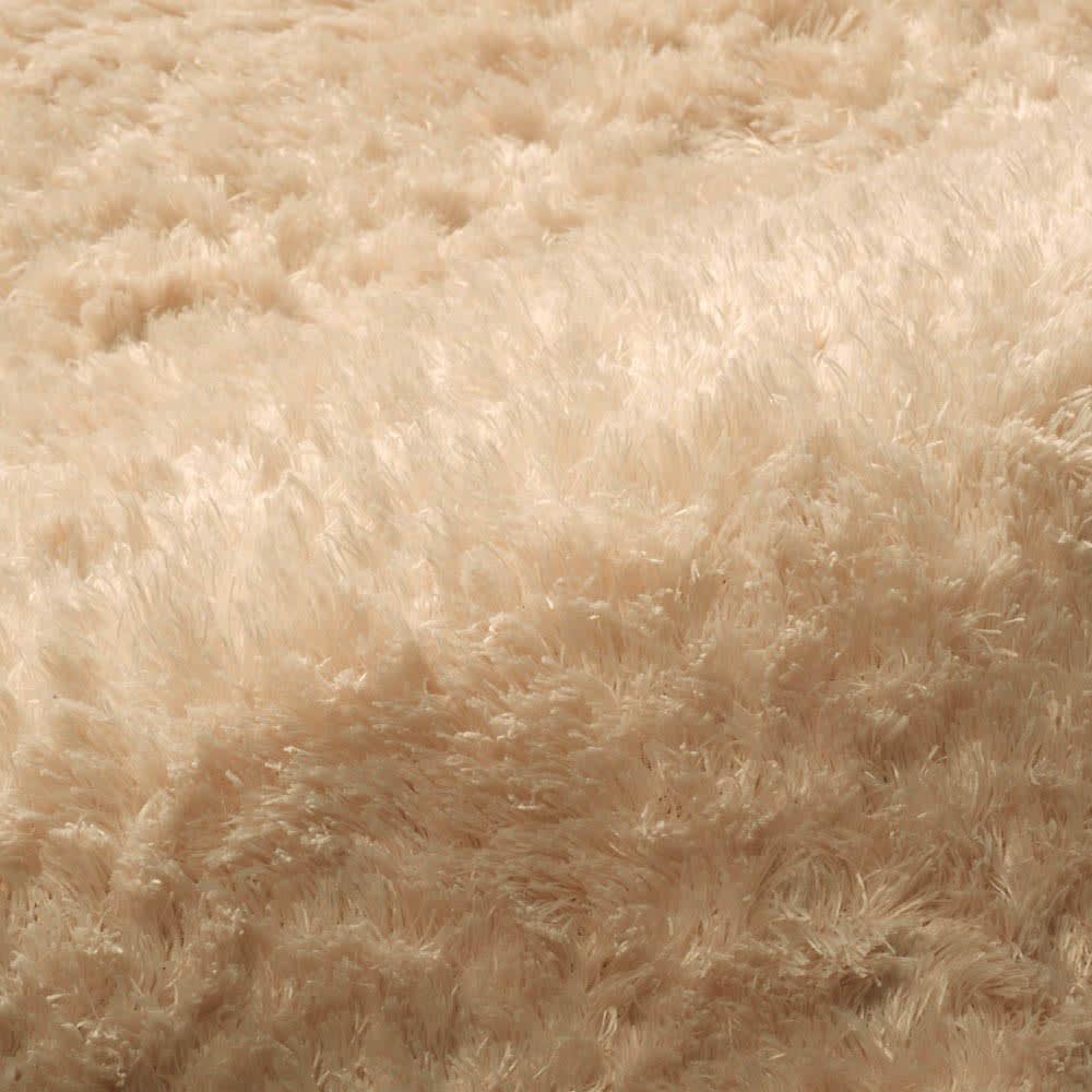 カーテン 敷物 ソファカバー カーペット ラグ マット 約130×185cm(やわらかマイクロファイバーの多色シャギーラグ〈ラルジュ〉洗えるタイプ) 528814