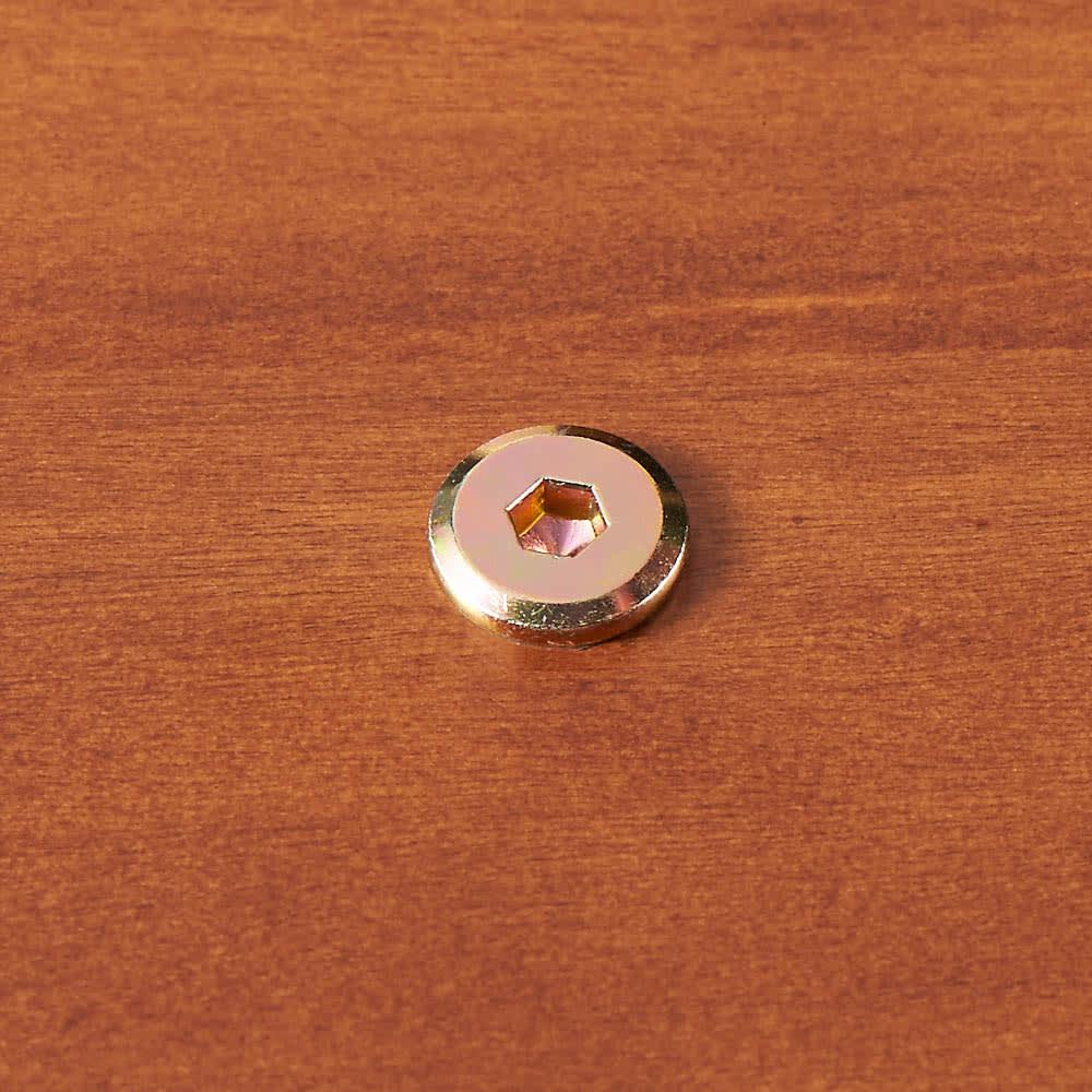 昇降式ダイニングこたつテーブル 105×75cm ふとんを使わない時は、天板を裏からねじでしっかり固定できずれません。