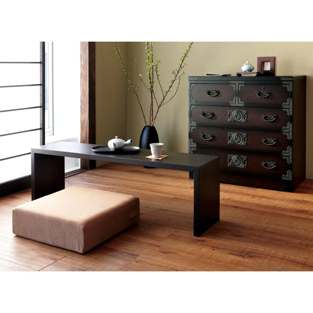 洗濯できるカバーの低反発ふんわりあぐら角クッション 和室に合わせて、和モダンスタイルに。座卓、こたつのクッションとしても。