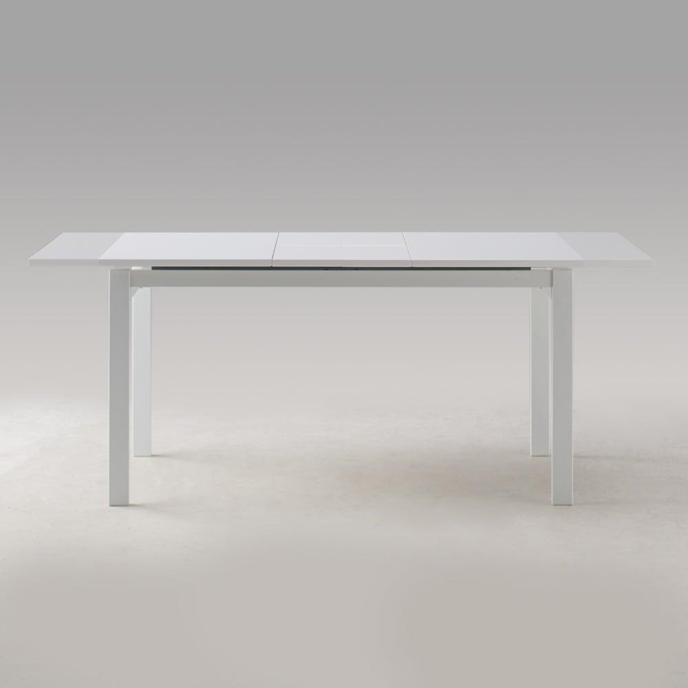 簡単伸長!スマート伸長式テーブル 幅140・180cm 【ポイント】テーブルは幅140cm~180cmへ伸長します。用途に合わせてお使いいただけます。