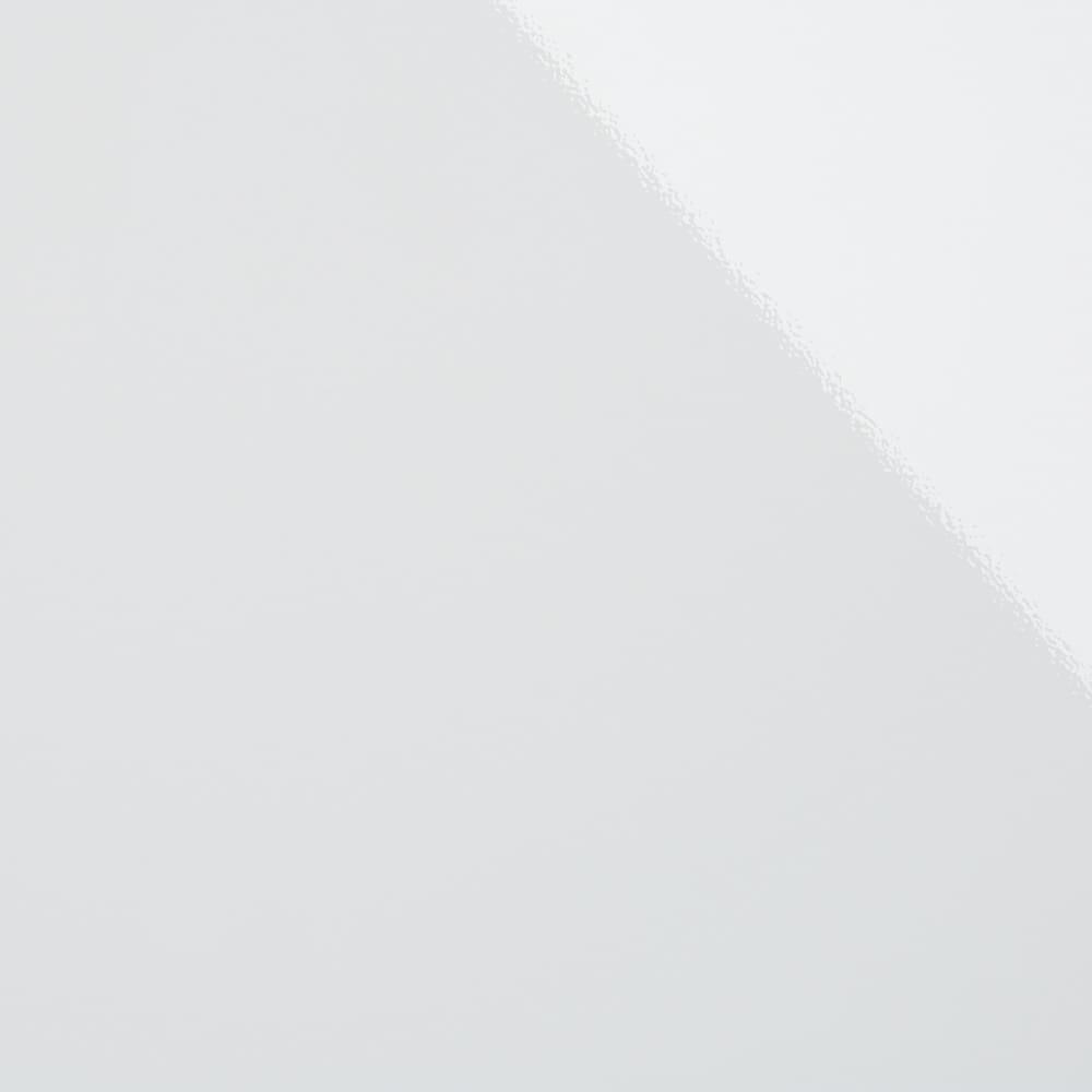 家電もストックもまとめて収納!天井ぴったりキッチンシリーズ レンジボード 幅60cm奥行50cm (エ)ホワイト 美しい光沢の白が、明るく清潔感のある空間に。ご自宅のキッチンにも合わせやすい定番色です
