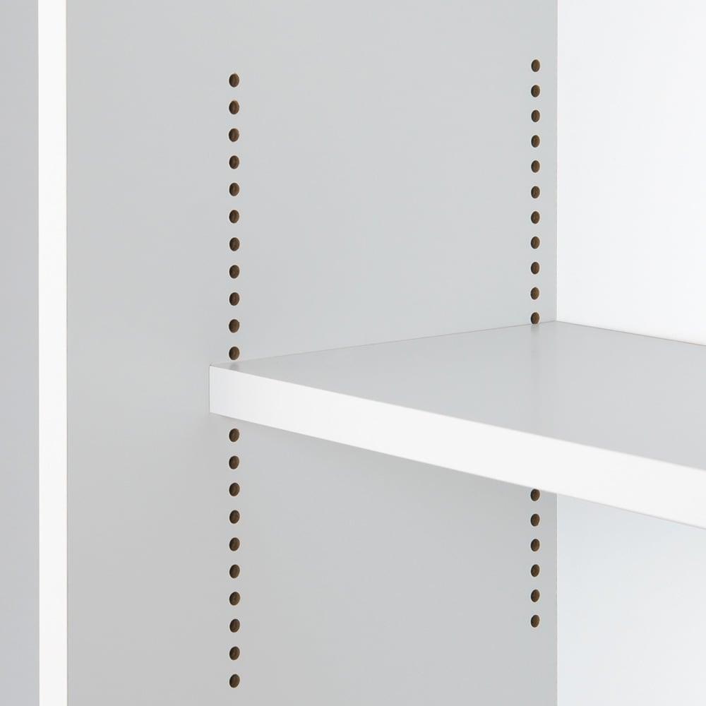 高さ60cm!カウンターダイニング下に納まる収納庫 引き戸 幅79奥行35cm 無駄なすき間をつくらずぎっしり収納できます。
