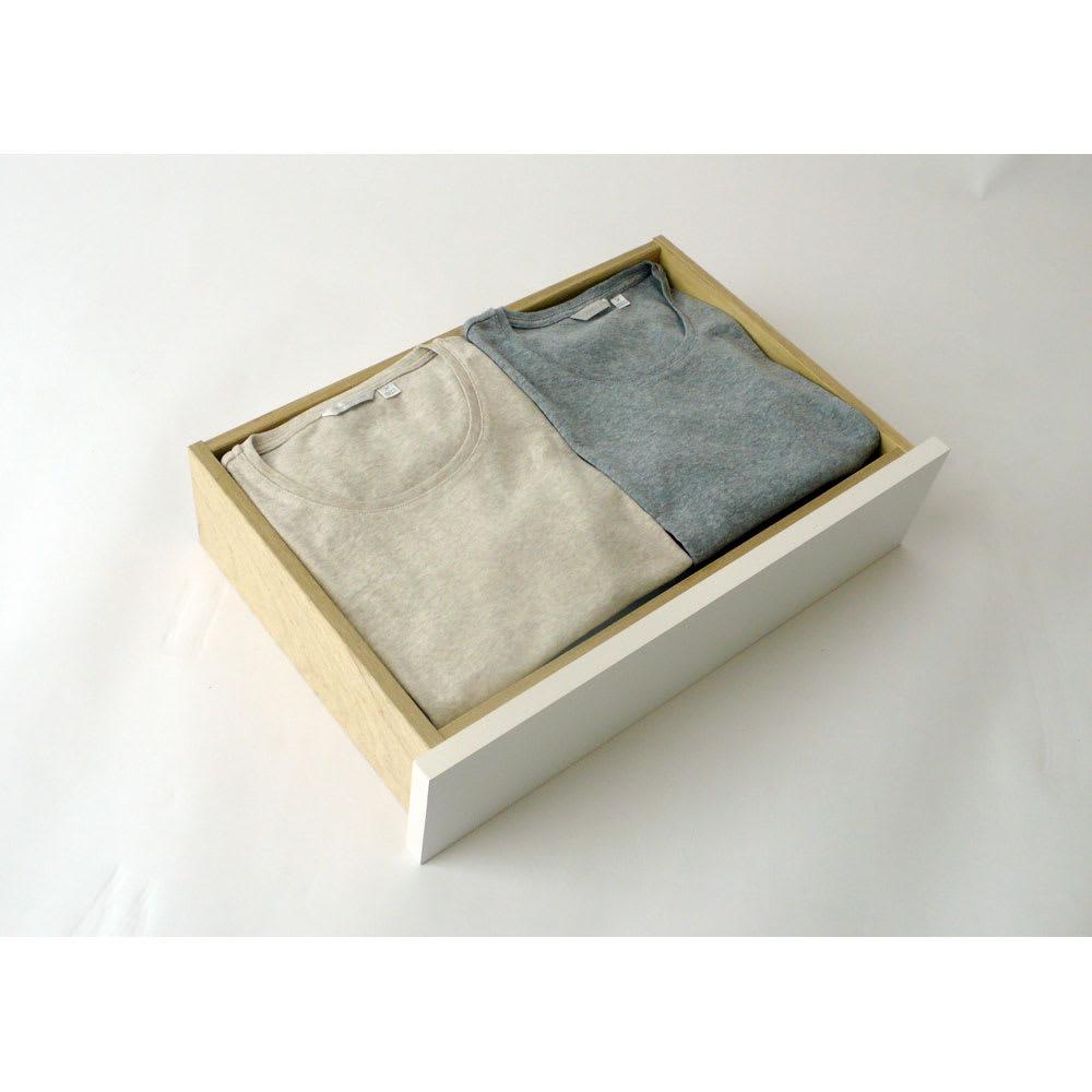 【日本製】壁面や窓下にぴったり収まる高さサイズオーダー収納庫 奥行35cmタイプ 引き出しチェスト 幅50cm 衣類の収納も可能。
