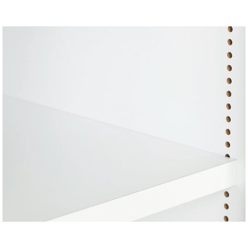 A4サイズがぴったり収まる高さサイズオーダー対応壁面収納ラック 奥行29.5cmタイプ 幅25~50本体高さ207~259cm(対応天井高さ208~260cm) 可動棚は収納物にあわせて1cmピッチで調節可能。