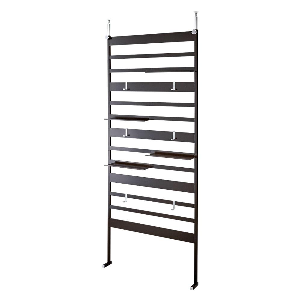 幅86cm(壁面を有効活用できる突っ張りラダーラック) 533821