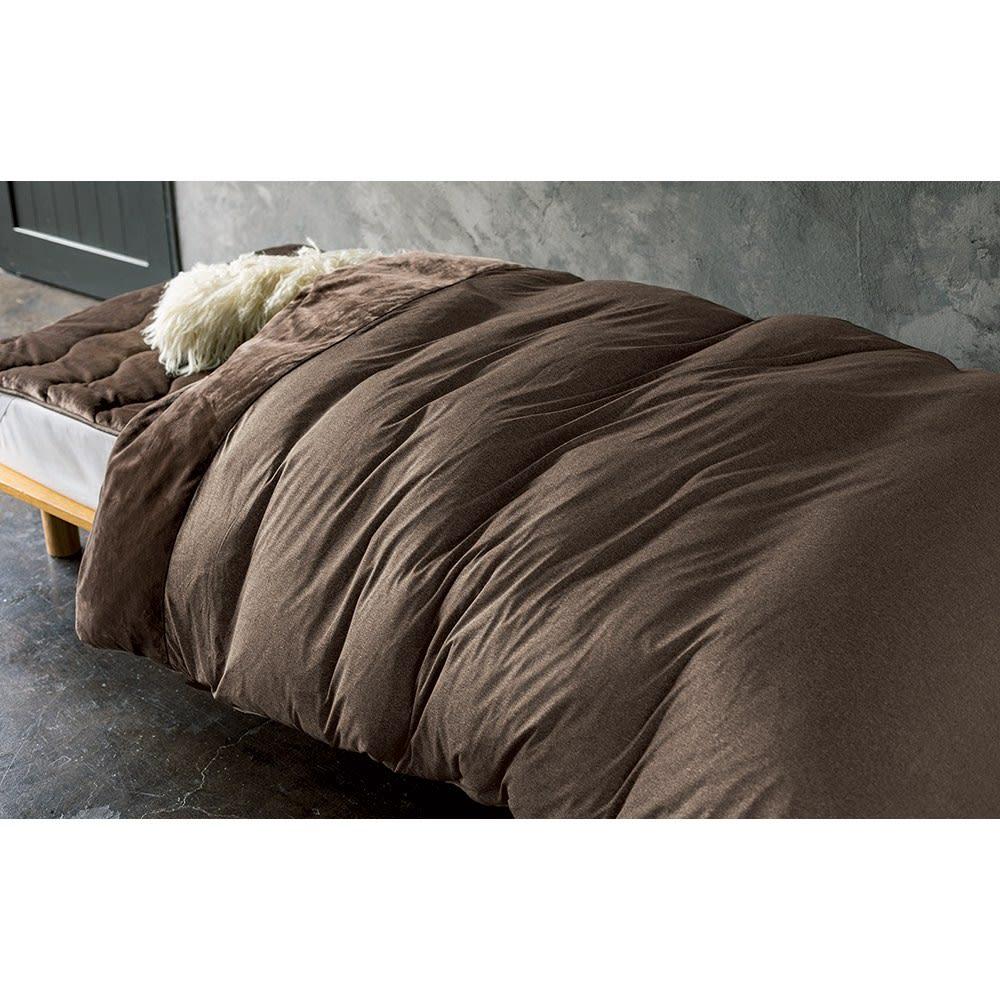 クレスカローレシリーズ オールインワン毛布 コーディネート例 ※お届けは毛布です。