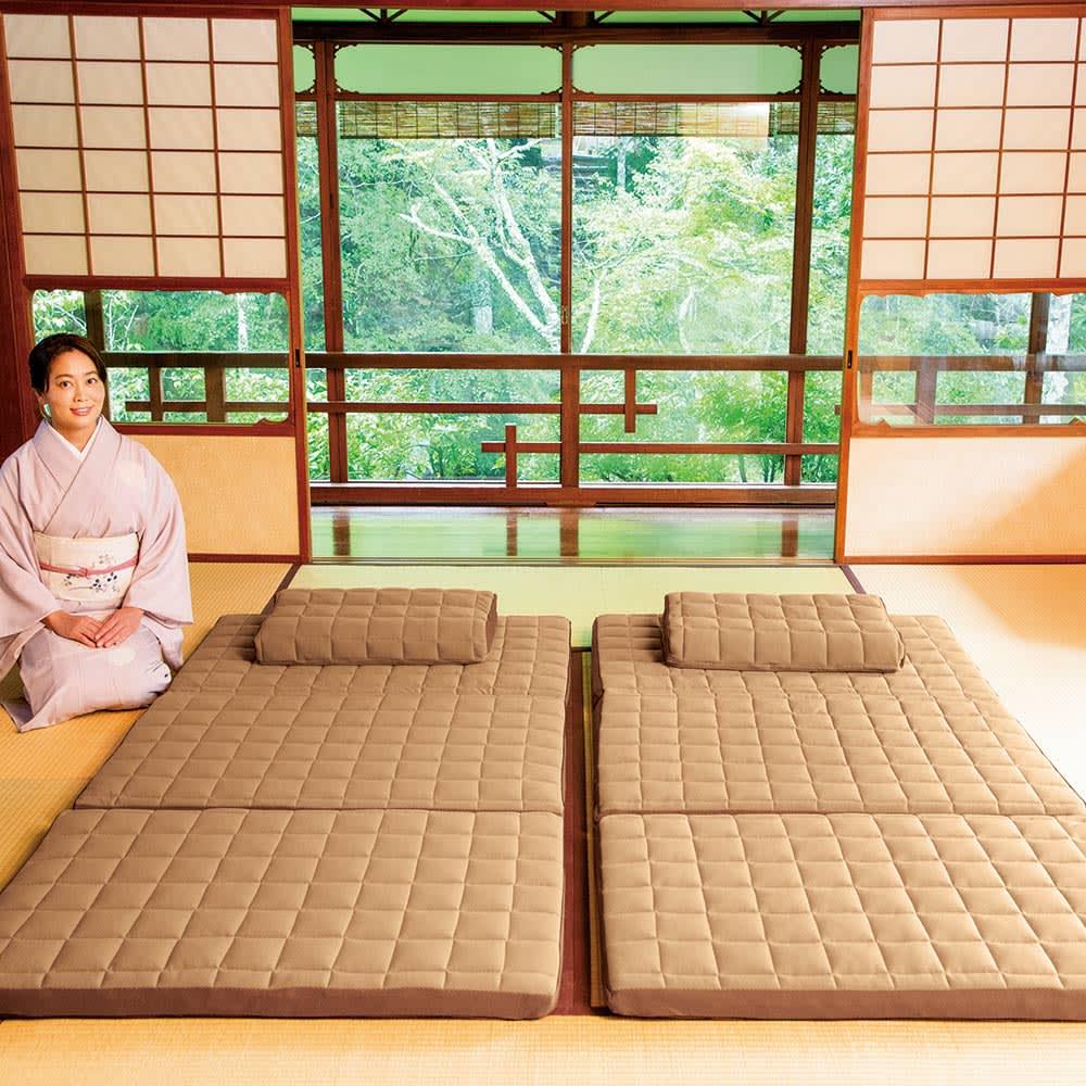 セミダブル(名旅館「岩惣」 おもてなしの寝心地シリーズ 敷布団) 526611