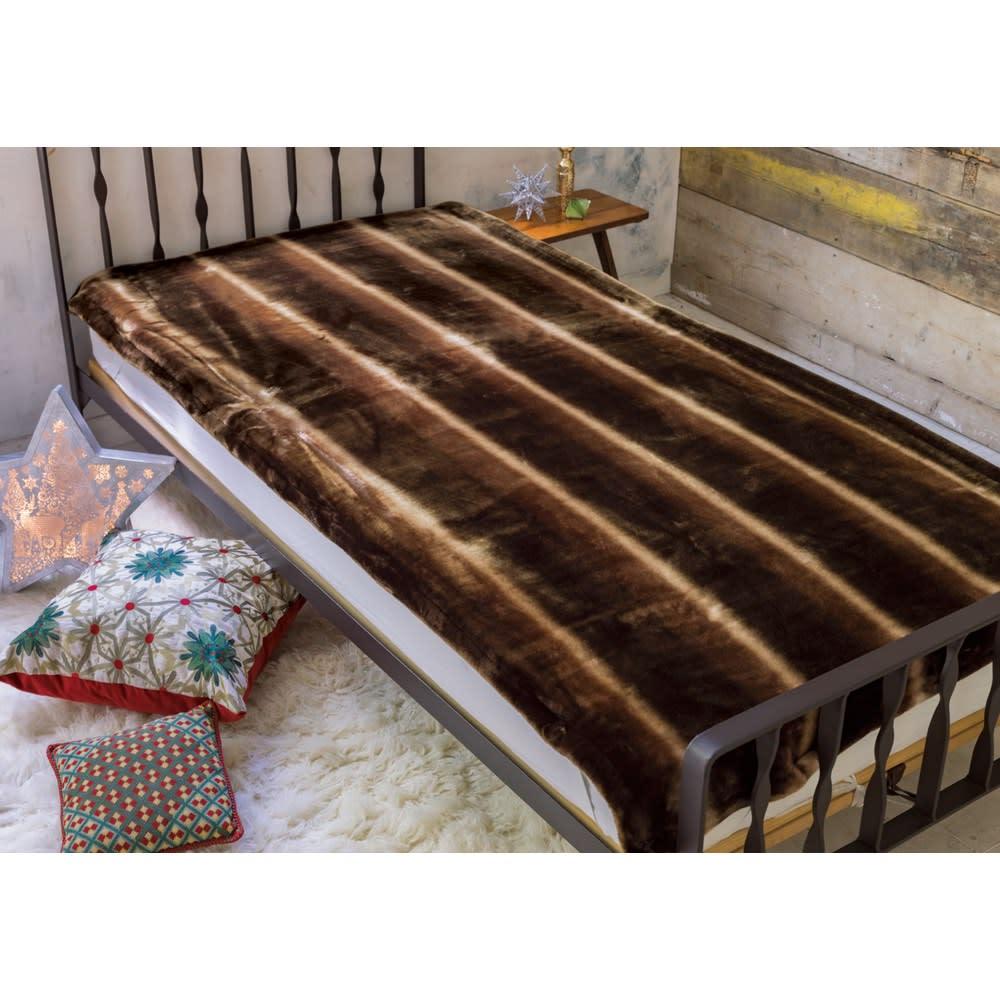 ベッド 寝具 布団 毛布 ブランケット 敷き毛布 ダブル(カルドニード(R) ノッテII 毛布 敷き毛布) 526806