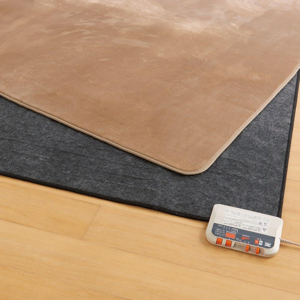 キッチン 家電 電化製品 ヒーター 暖房器具 3畳 (電磁波カットホットカーペット本体のみ) 528903