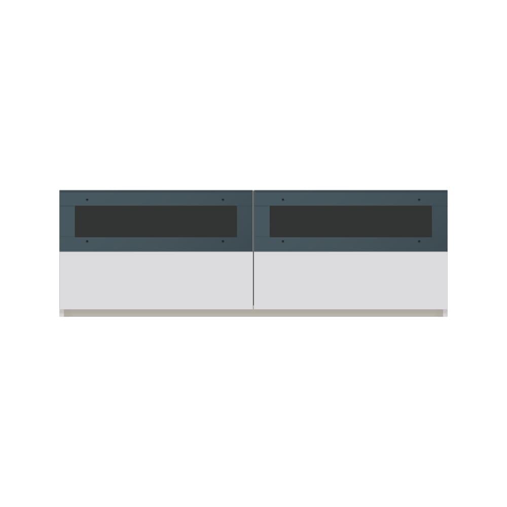 毎日の使いやすさを考えた収納システム テレビ台ロータイプ 幅140cm (ア)ホワイト