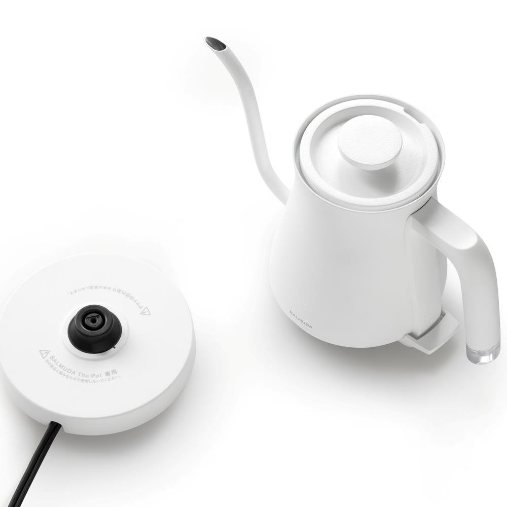 【送料無料】BALMUDA The Pot バルミューダ ザ・ポット (イ)ホワイト