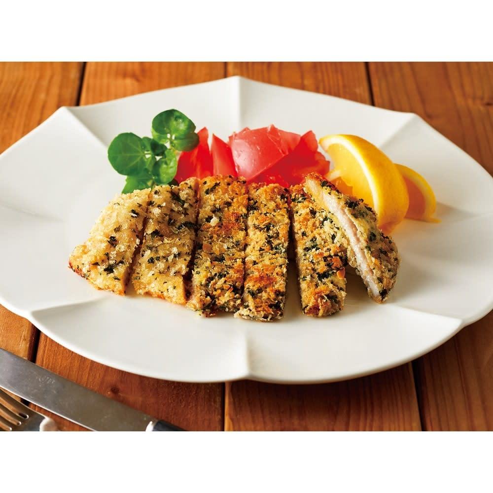 魚焼きグリルでもう1品!ビタクラフト グリルイングリル 調理例:ミラノ風ロースカツ