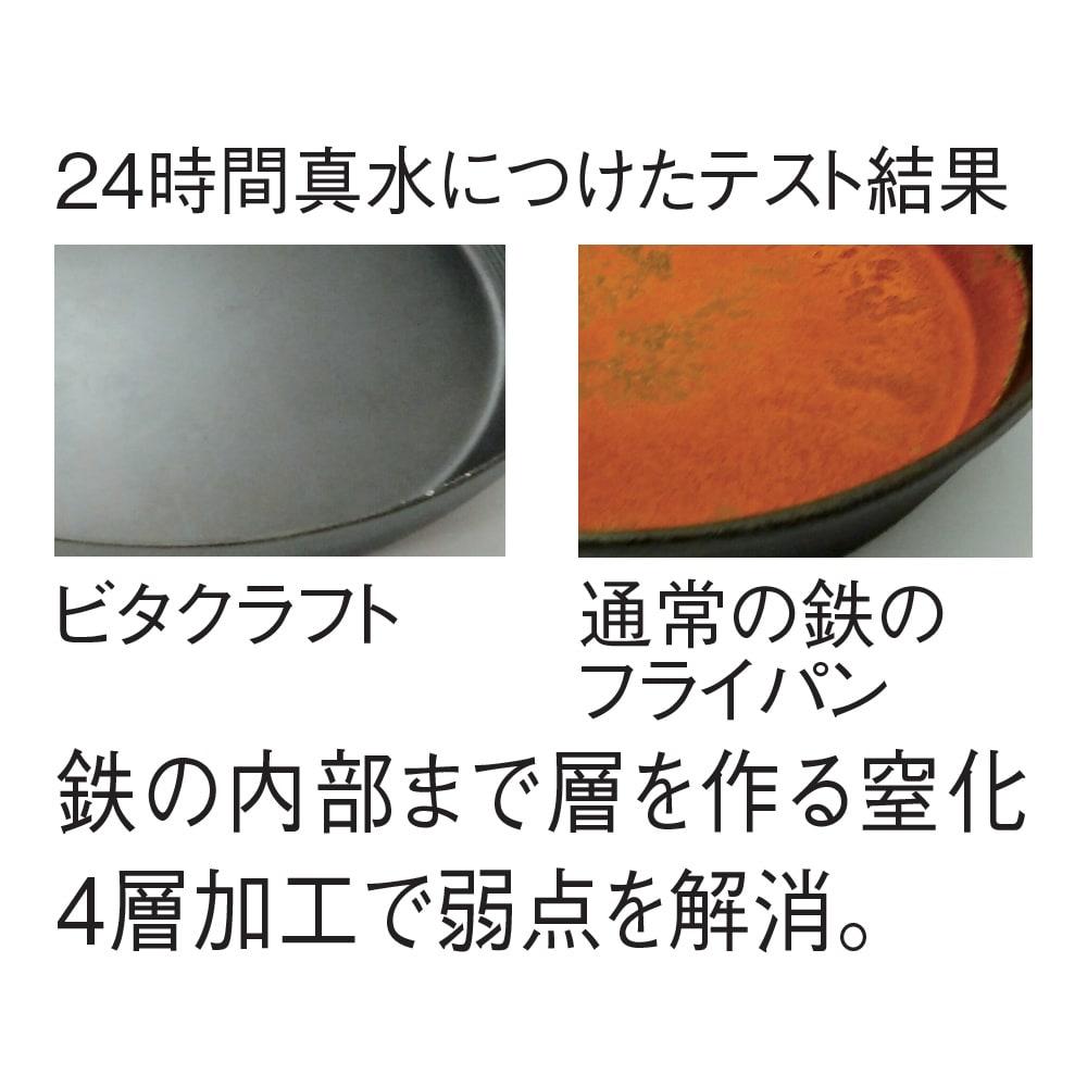 vitacraft/ビタクラフト スーパー鉄 おすすめ2点セット フライパン径24cm&炒め鍋径28cm 特典付き 錆びにくい!