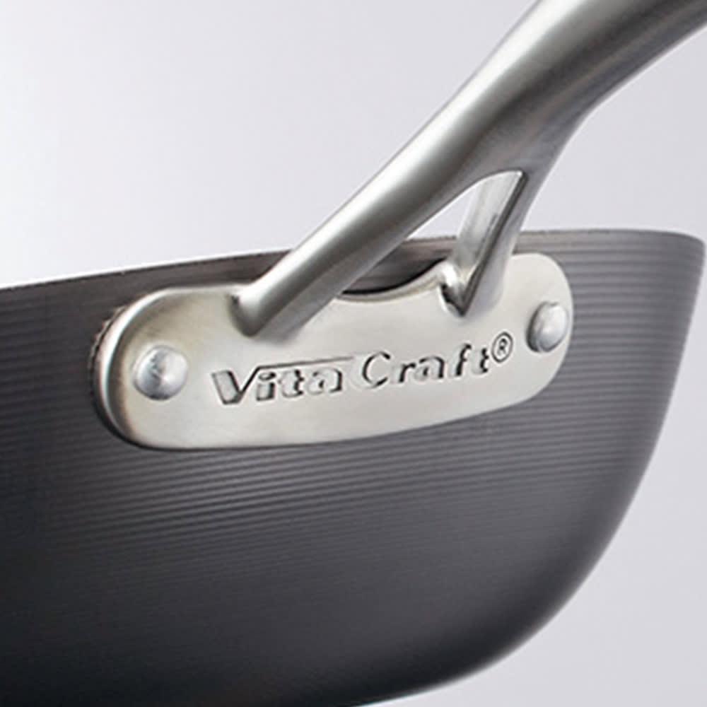 vitacraft/ビタクラフト スーパー鉄 炒め鍋径30cm 品質はビタクラフトの保証付きです。