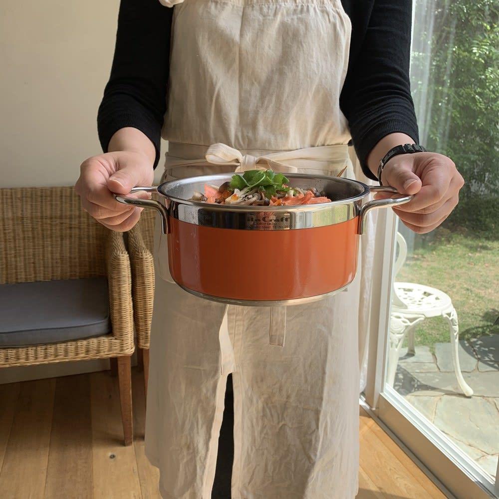 vitacraft/ビタクラフト コロラド4点セット 片手鍋+両手鍋(浅型)+両手鍋(深型)+パンチングザル