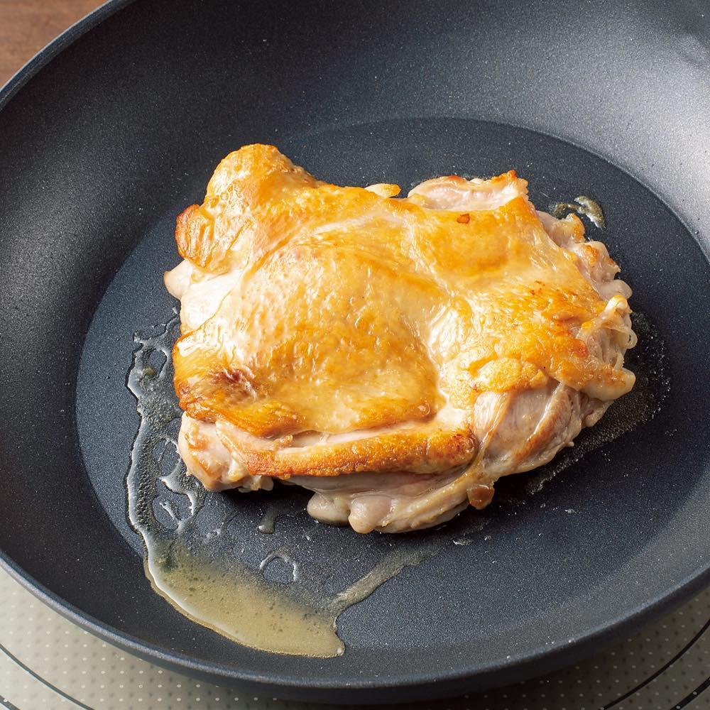 イタリア製 TVS mito/ミト フライパン20cm 高い熱伝導率で、お肉もカラッと。