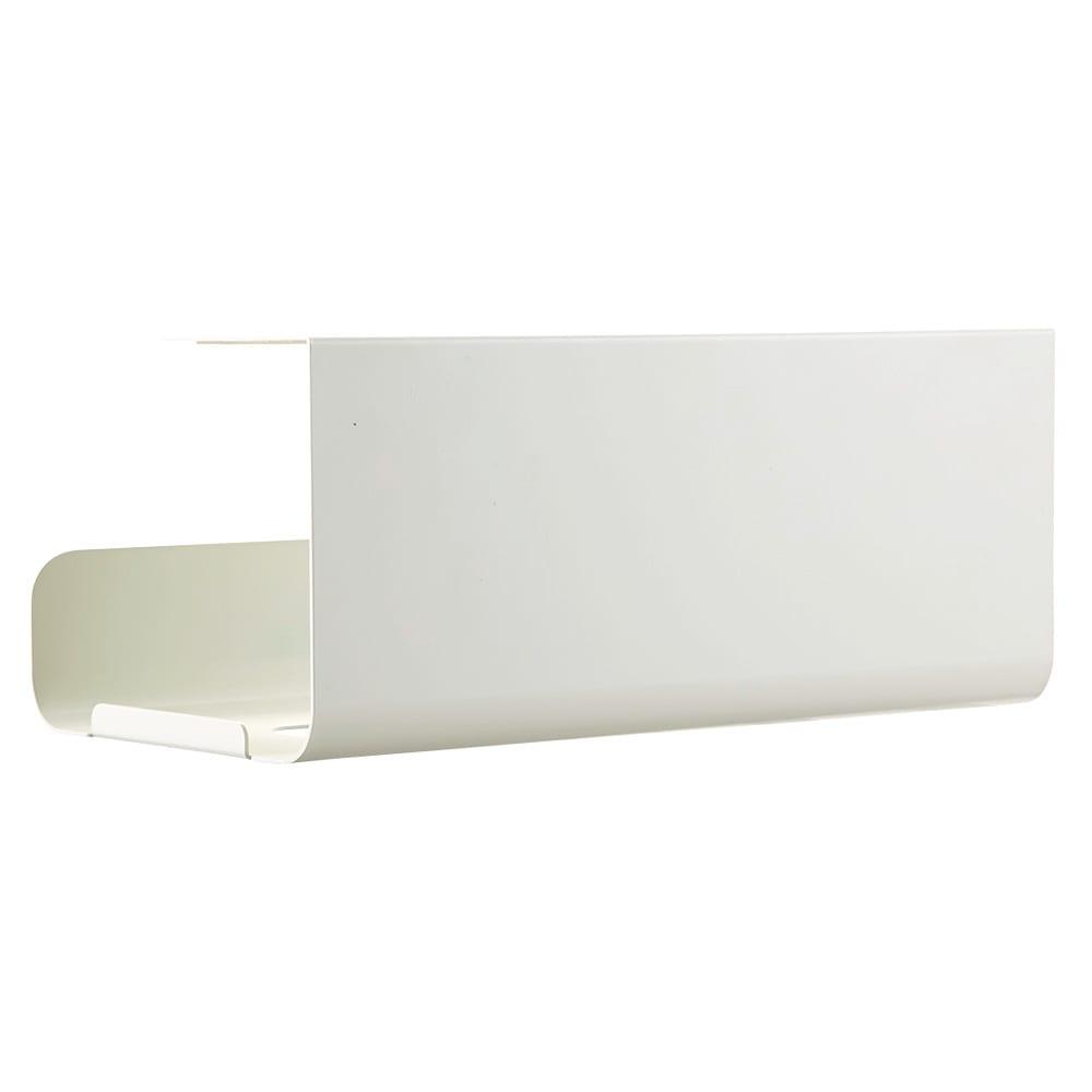 UCHIFIT ウチフィット 吊戸棚下のキッチンペーパーホルダー ボックスタイプ用 ア)清潔感のあるホワイト