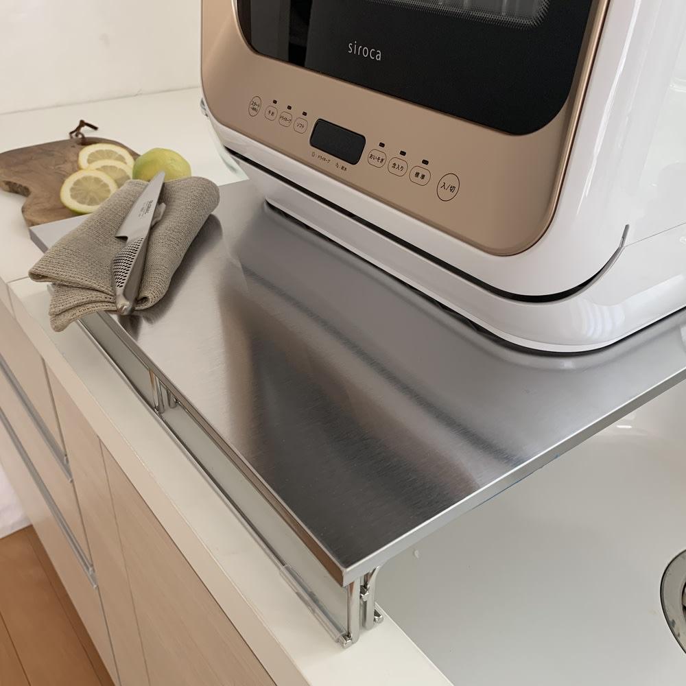 シンクに渡せる食洗機ラック