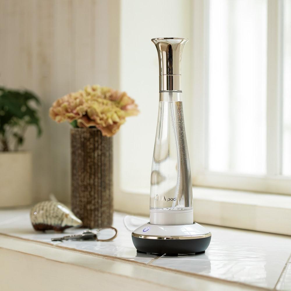 自宅で簡単・除菌・消臭剤「ジア ポケット」 おしゃれで便利なスプレーボトル。