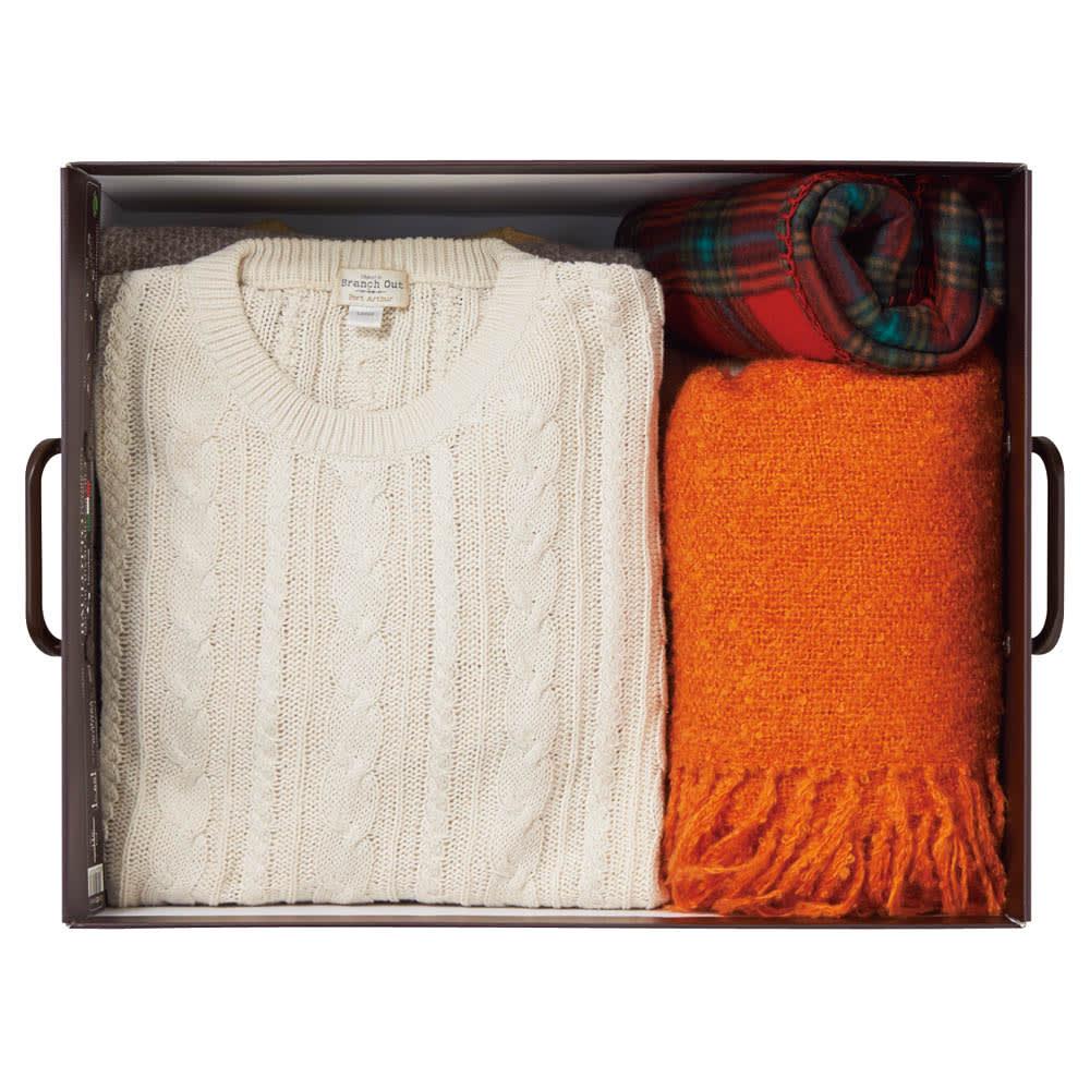 イタリア製収納ボックス 大サイズ 大サイズ…衣類収納に。