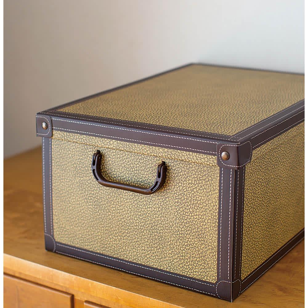 イタリア製収納ボックス 大サイズ (オ)クラシック WEB限定色