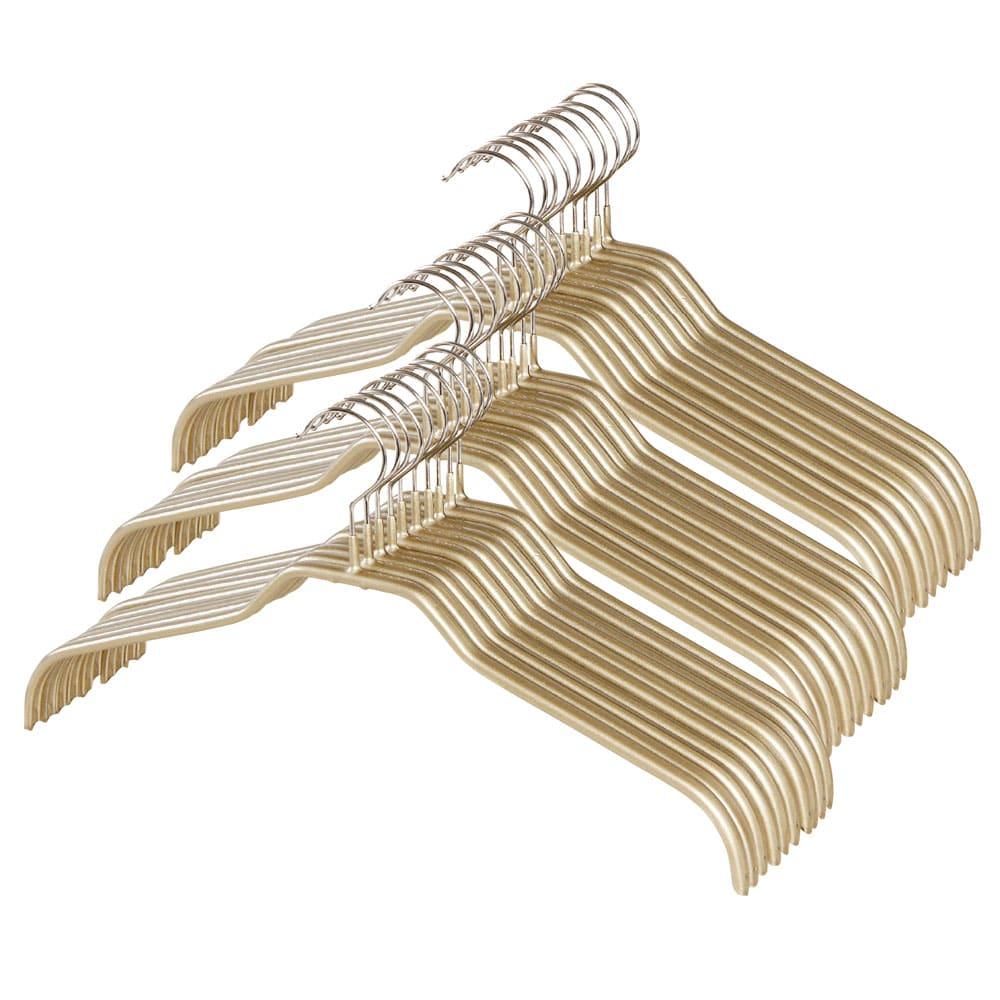 MAWA(マワ)ハンガー レディースハンガー (イ)ゴールド レディースハンガー、人体ハンガーはまとめ買いがおトクです。30本組なら10%、60本組なら20%オフでご提供!