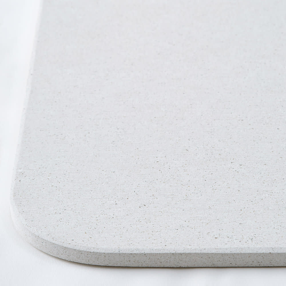 幅81・86cm/奥行36cm (soleau/ソレウ 吸水・速乾・消臭バスマット&ひのきスノコセット サイズオーダー)