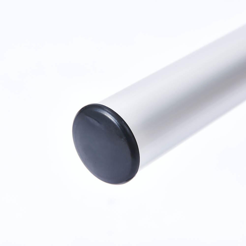 置き方自由! 物干しにもなる アルミ製タオルハンガー 3連 軸は丸パイプで角度を調整しやすく