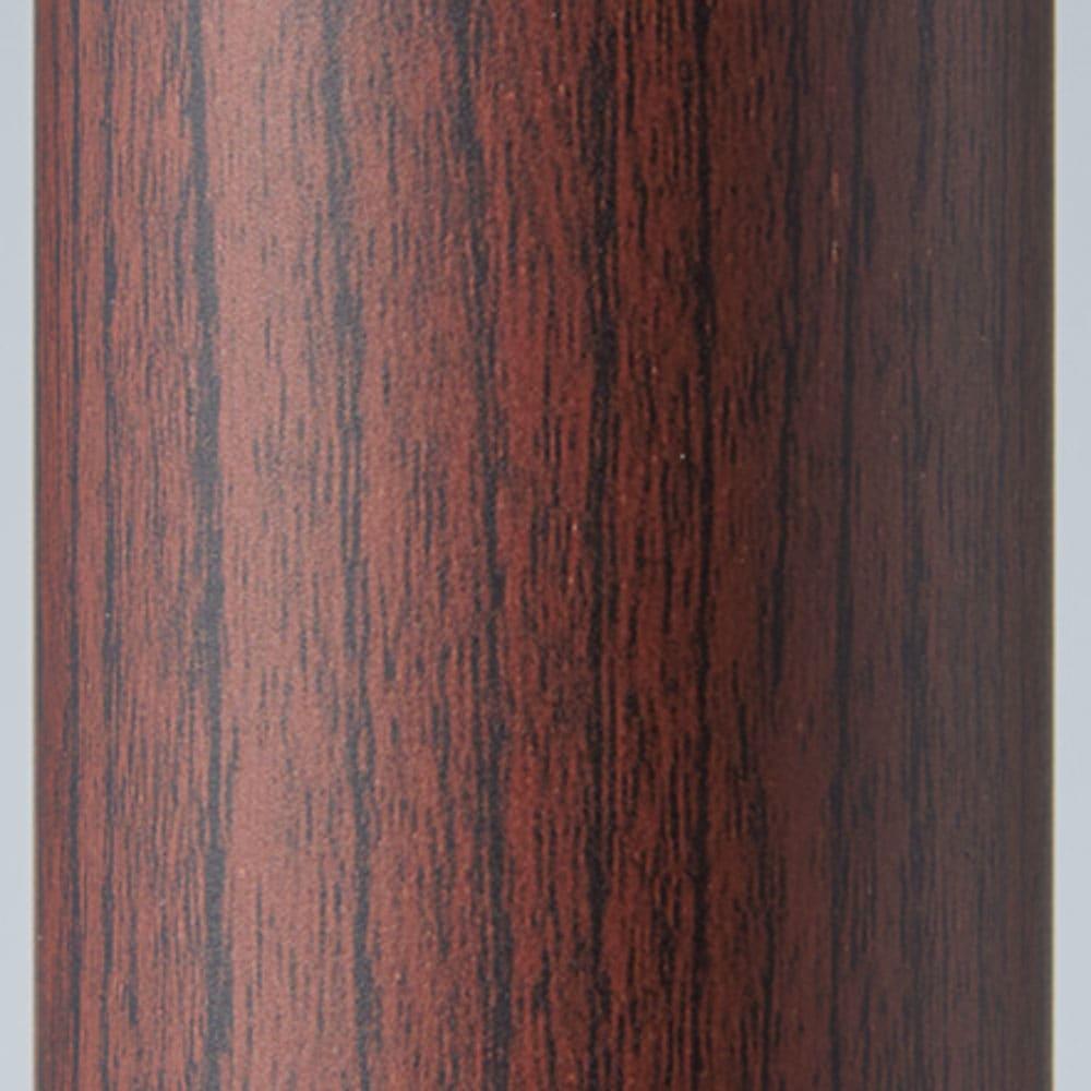 取付簡単窓枠突っ張り物干し 伸縮竿1本付き (イ)ダークブラウン木目 お部屋に合わせて選べる3色! カラーは木目調のホワイト、ダークブラウン、ライトブラウンの3色をラインナップ。