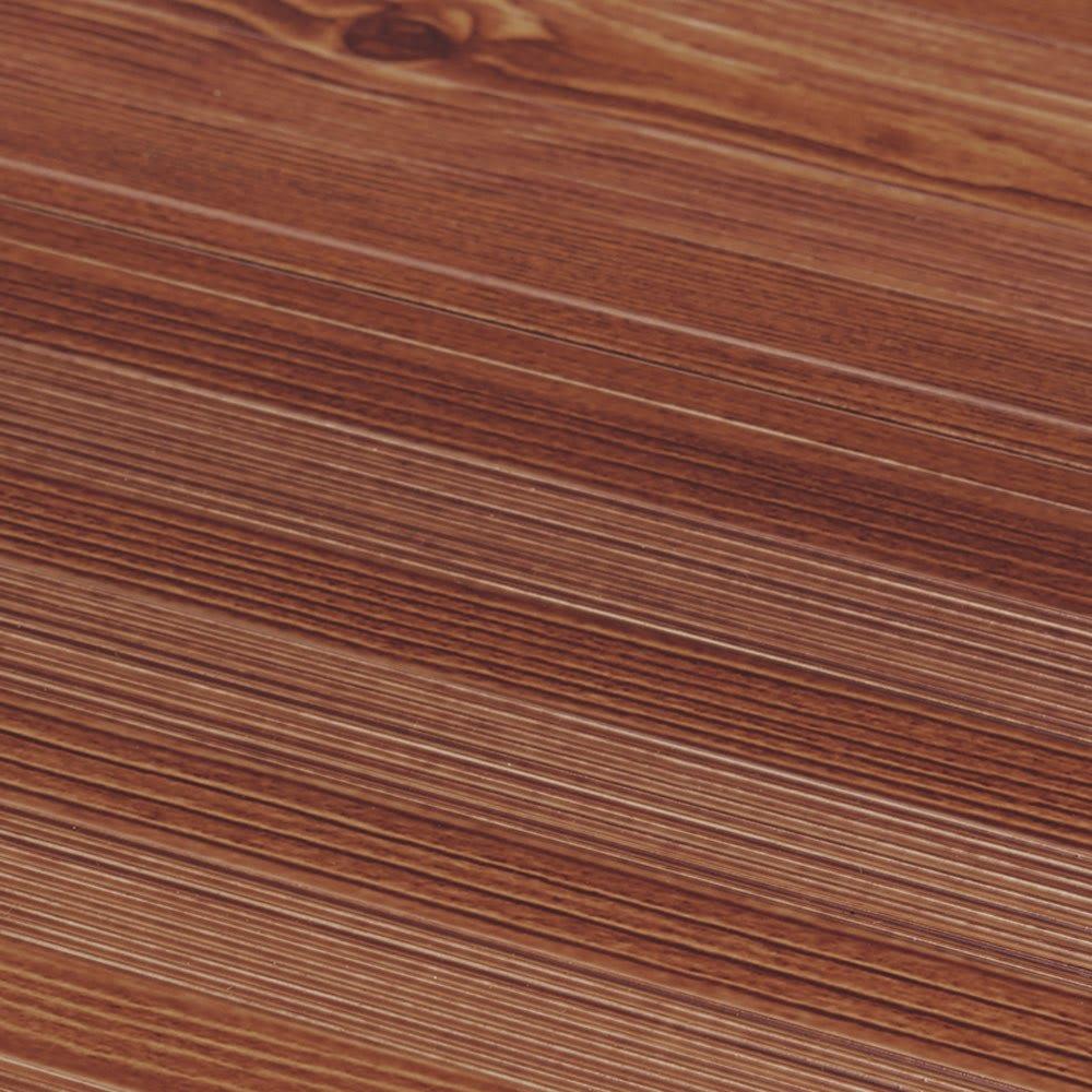 木目調ワイドステップ脚立 6段 木目アップ