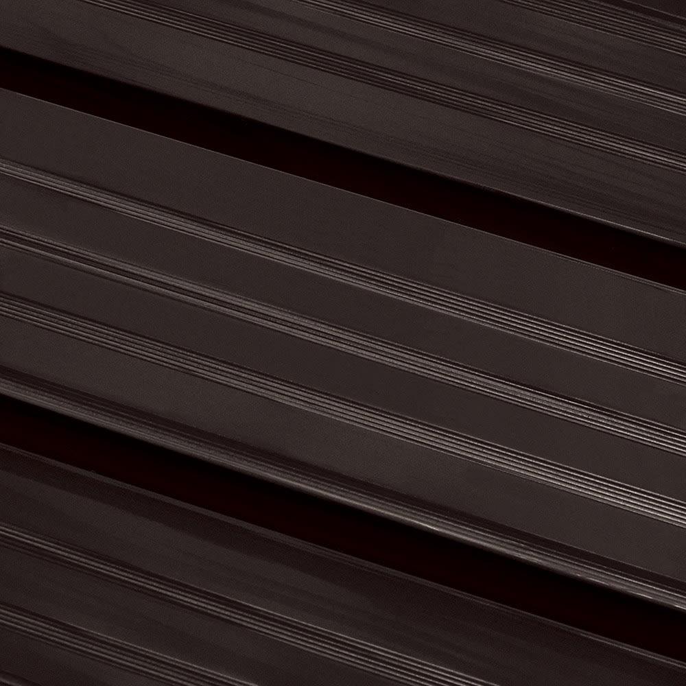 外壁に合わせやすい!アルミデッキ縁台 幅180cm サビにくく耐水性に優れたアルミ素材。軽量でお手入れも楽です。